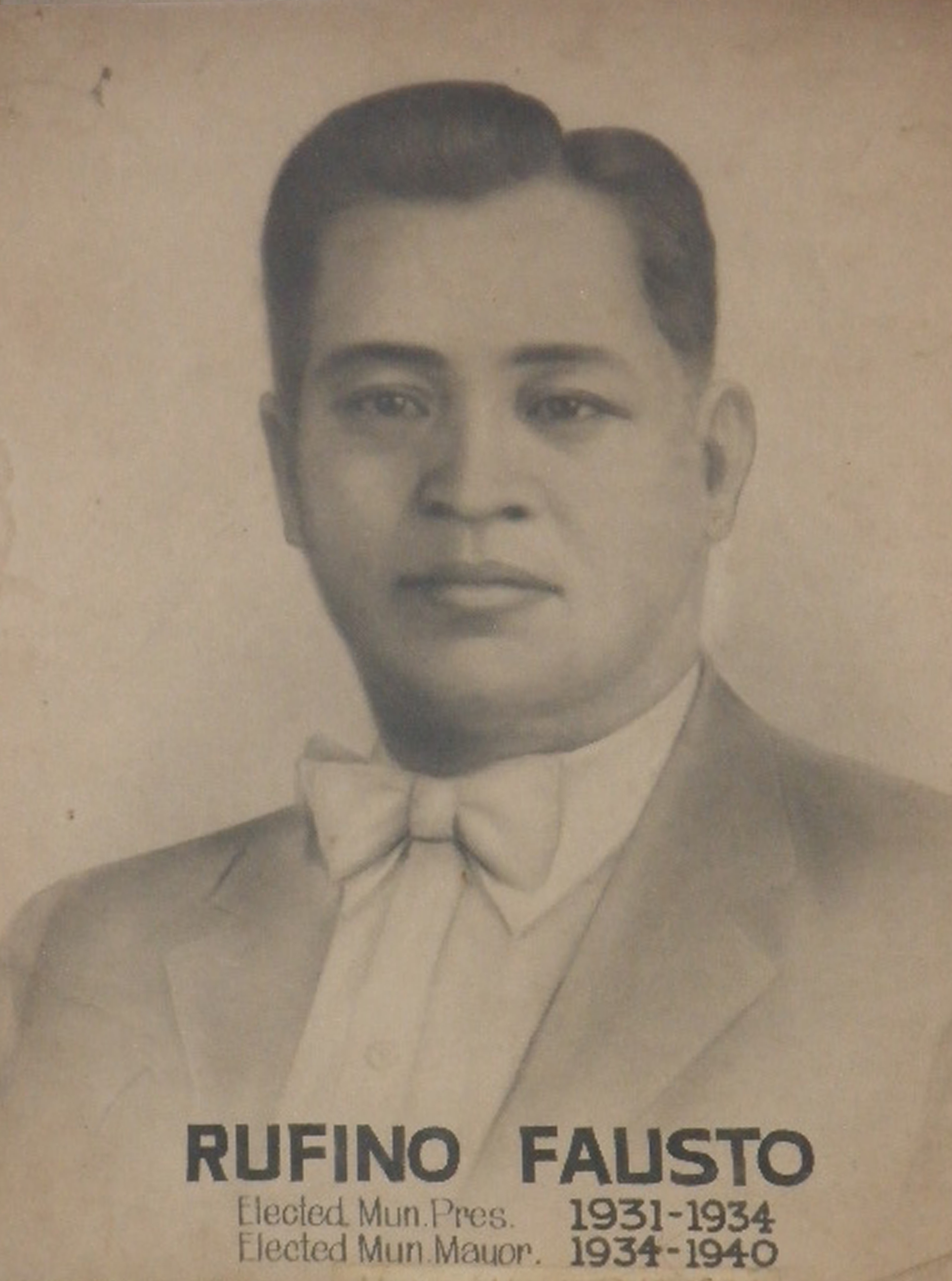 Mayor Rufino Fausto (1931-1934)