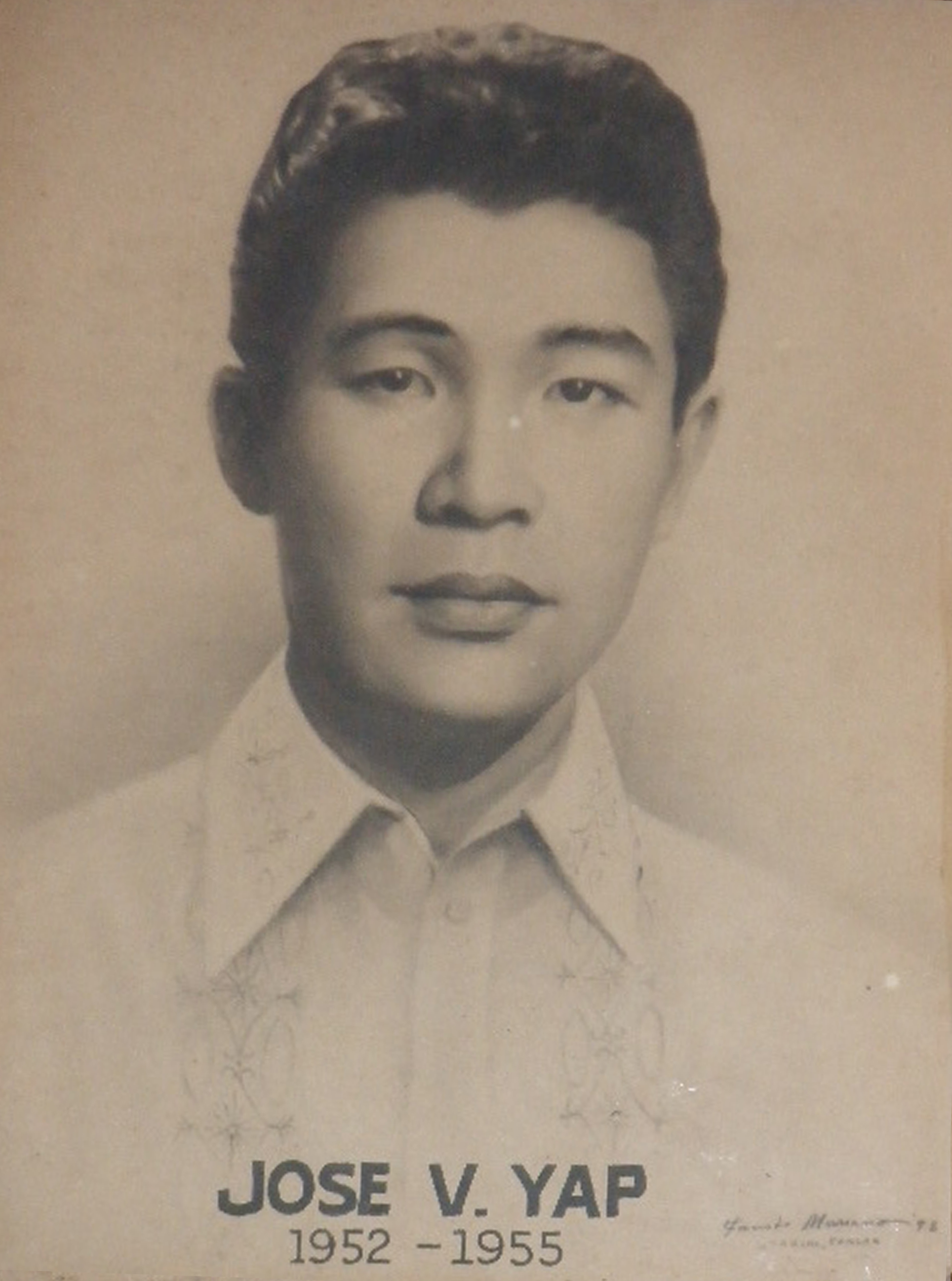 Mayor Jose Yap (1952-1955)