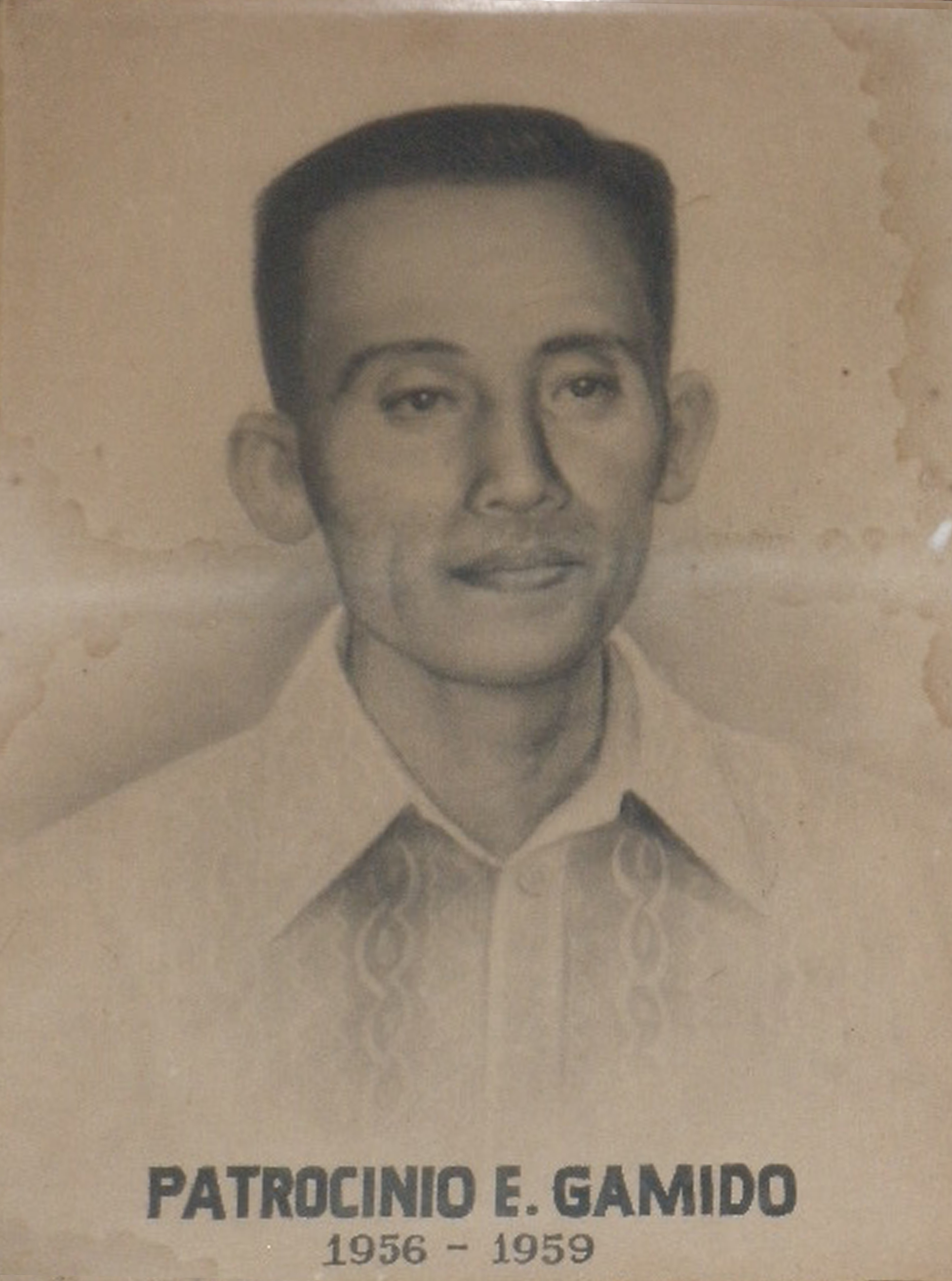 Mayor Patrocinio Gamido (1956-1959)