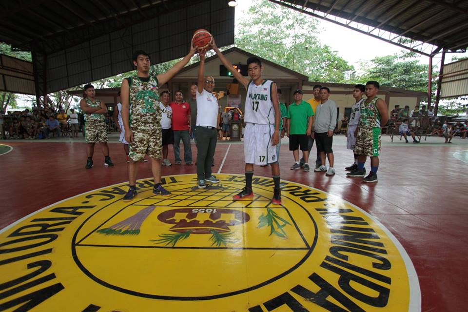 OPENING PROGRAM | 1ST MAYOR MARVIN OPEN AGE BASKETBALL TOURNAMENT 2016