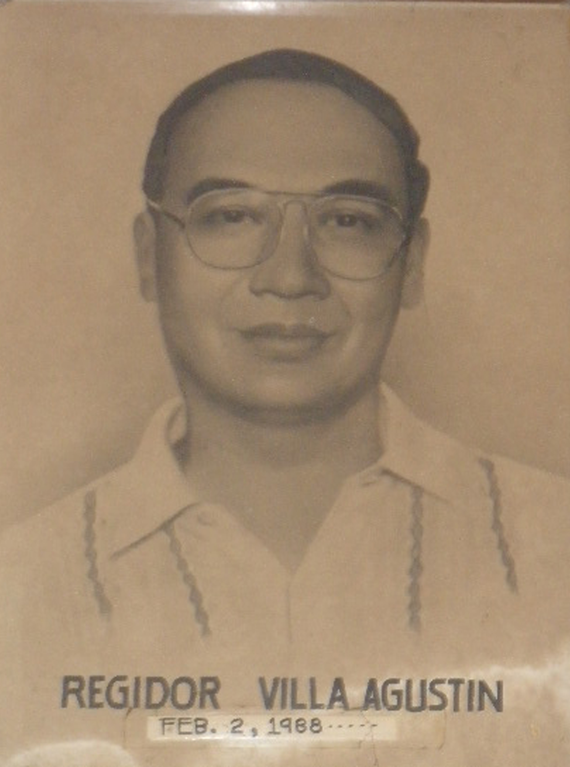 Mayor Regidor Villa Agustin (Feb 2 1988-June 30 1998)