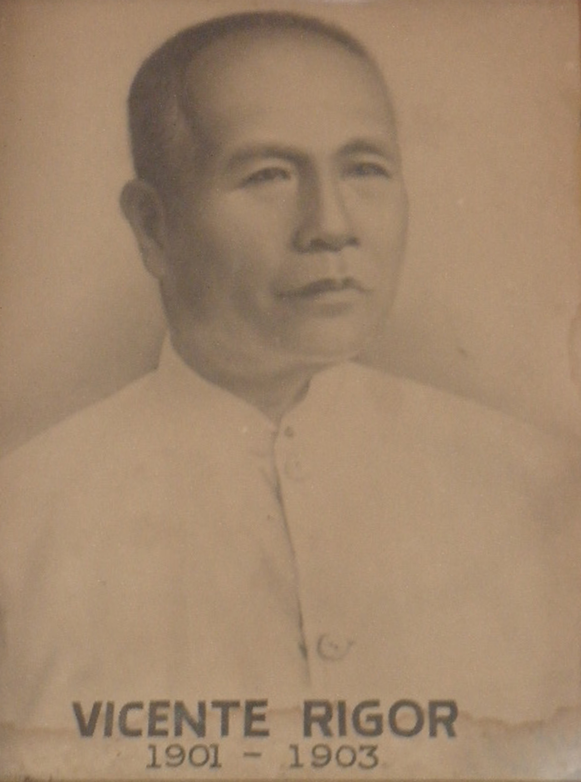 Mayor Vicente Rigor (1901-1903)