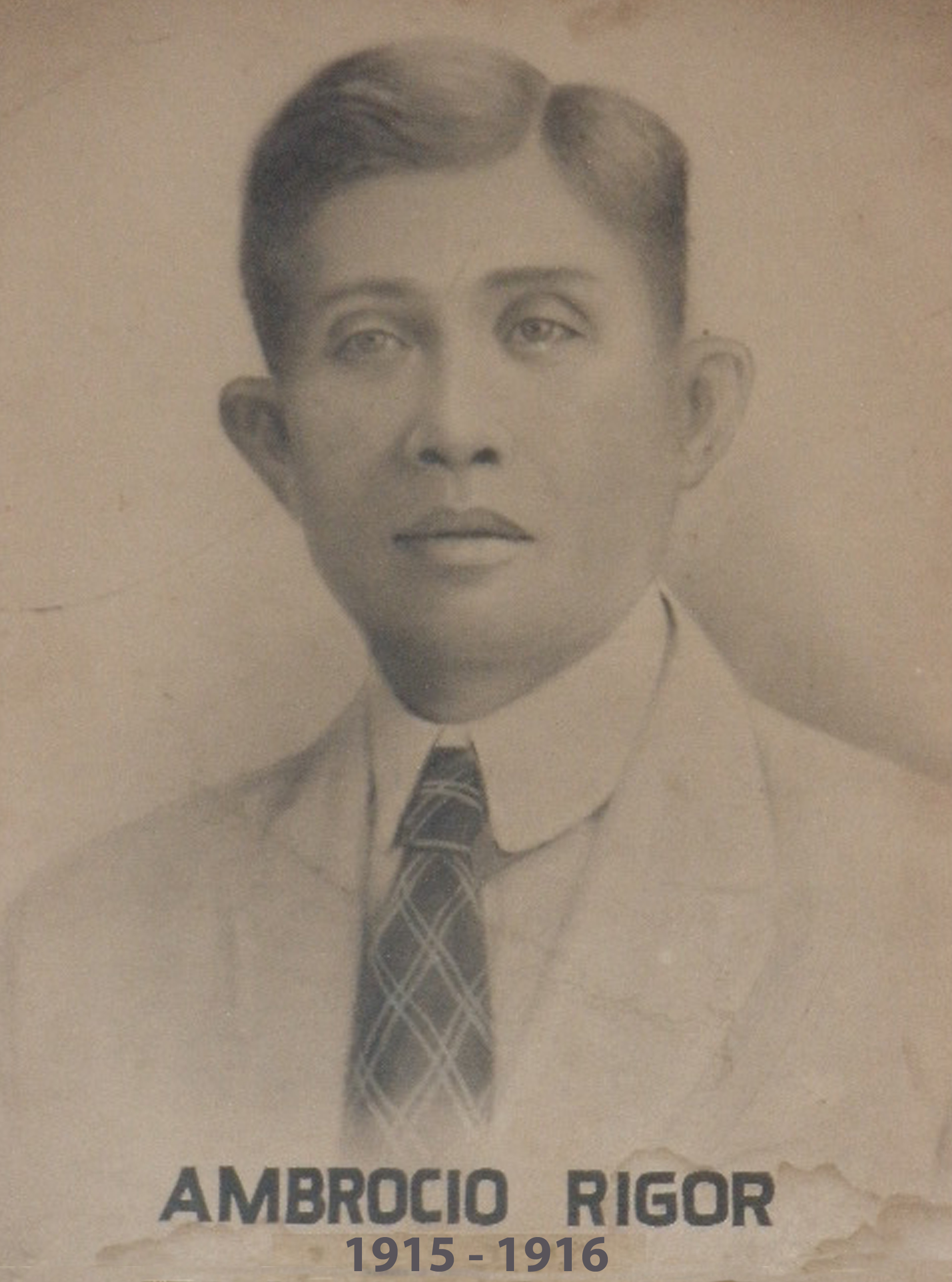 Mayor Ambrocio Rigor (1915-1916)