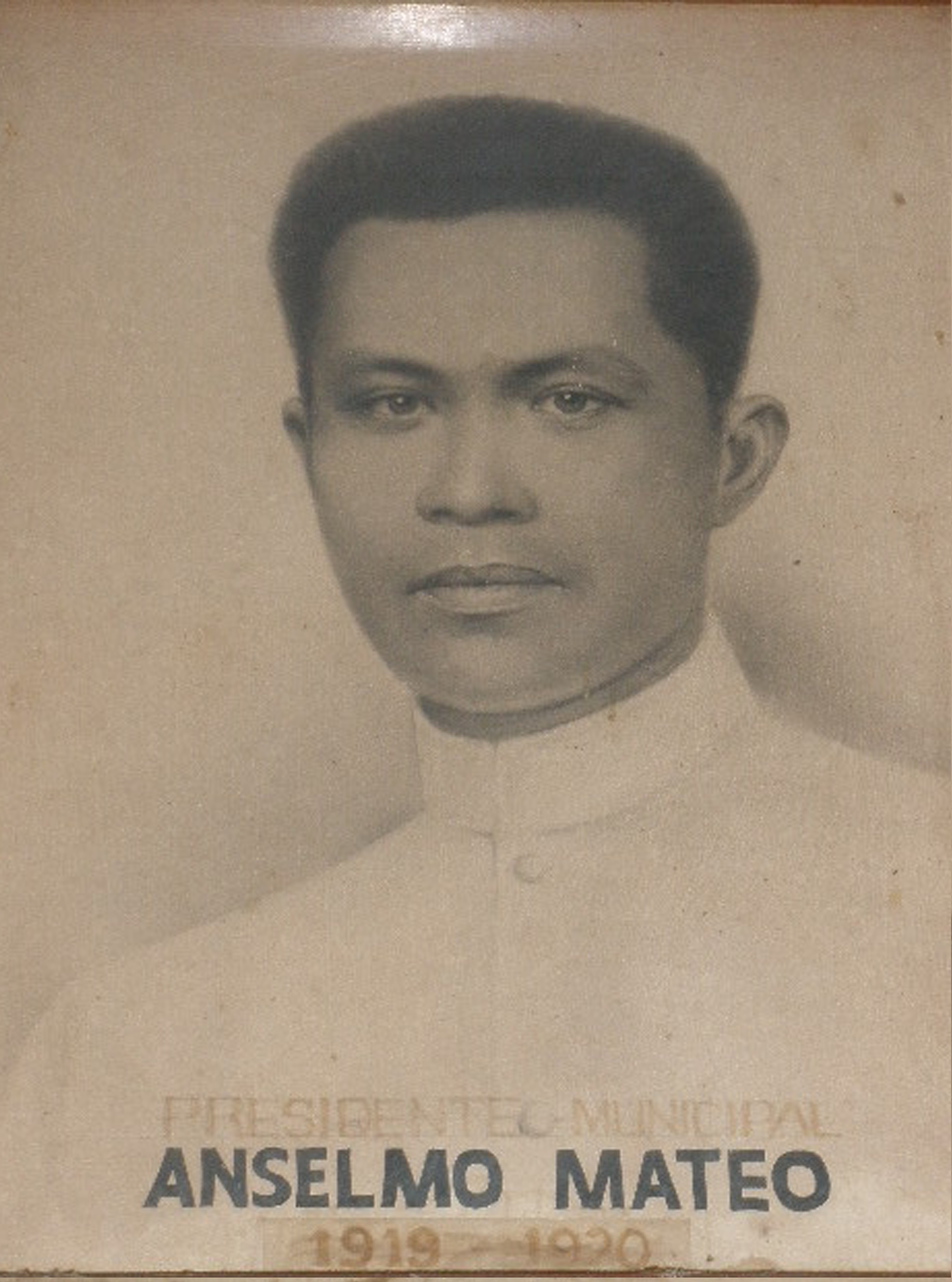 Mayor Anselmo Mateo (1919-1920)