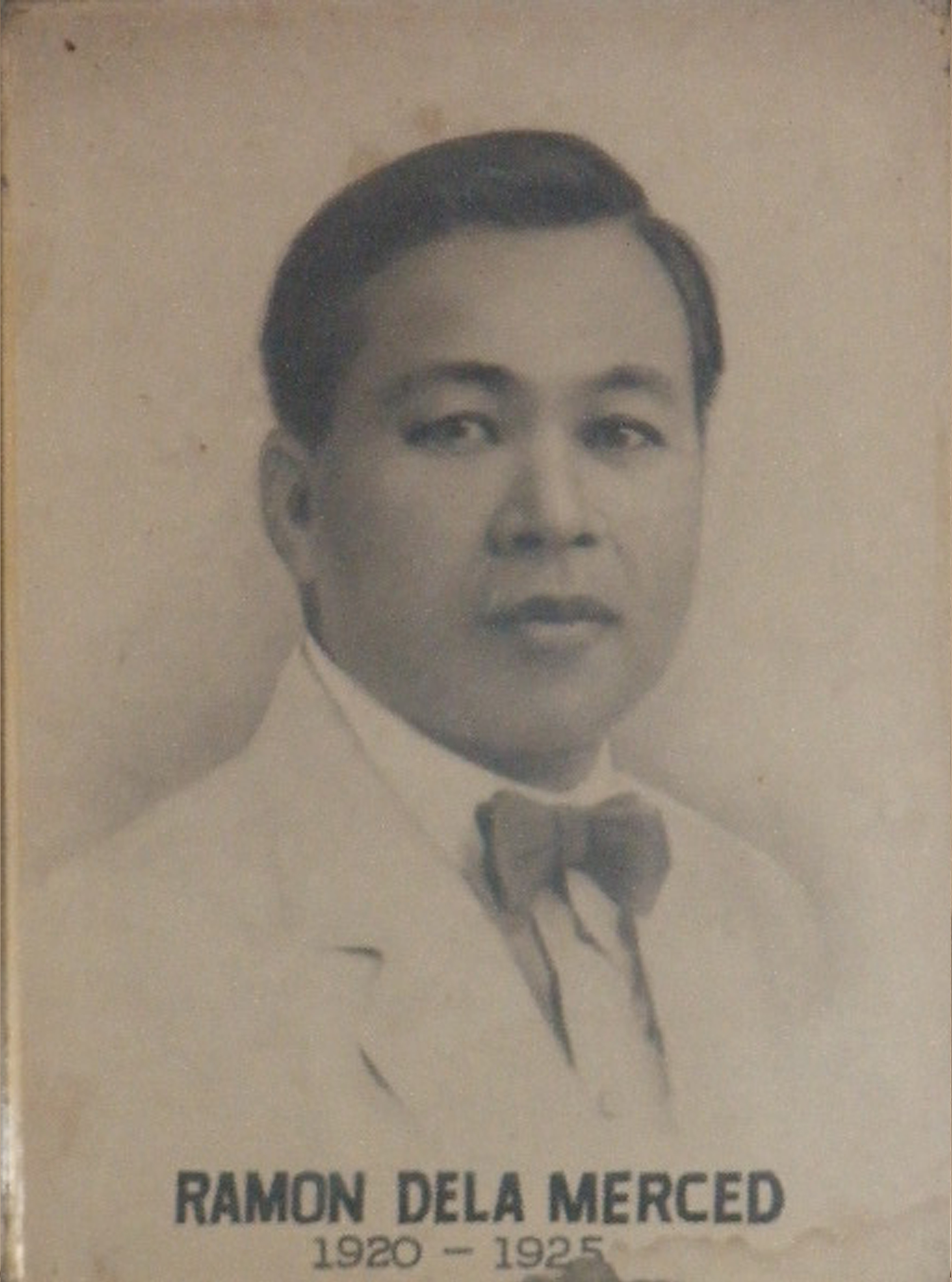 Mayor Ramon Dela Merced (1920-1925)