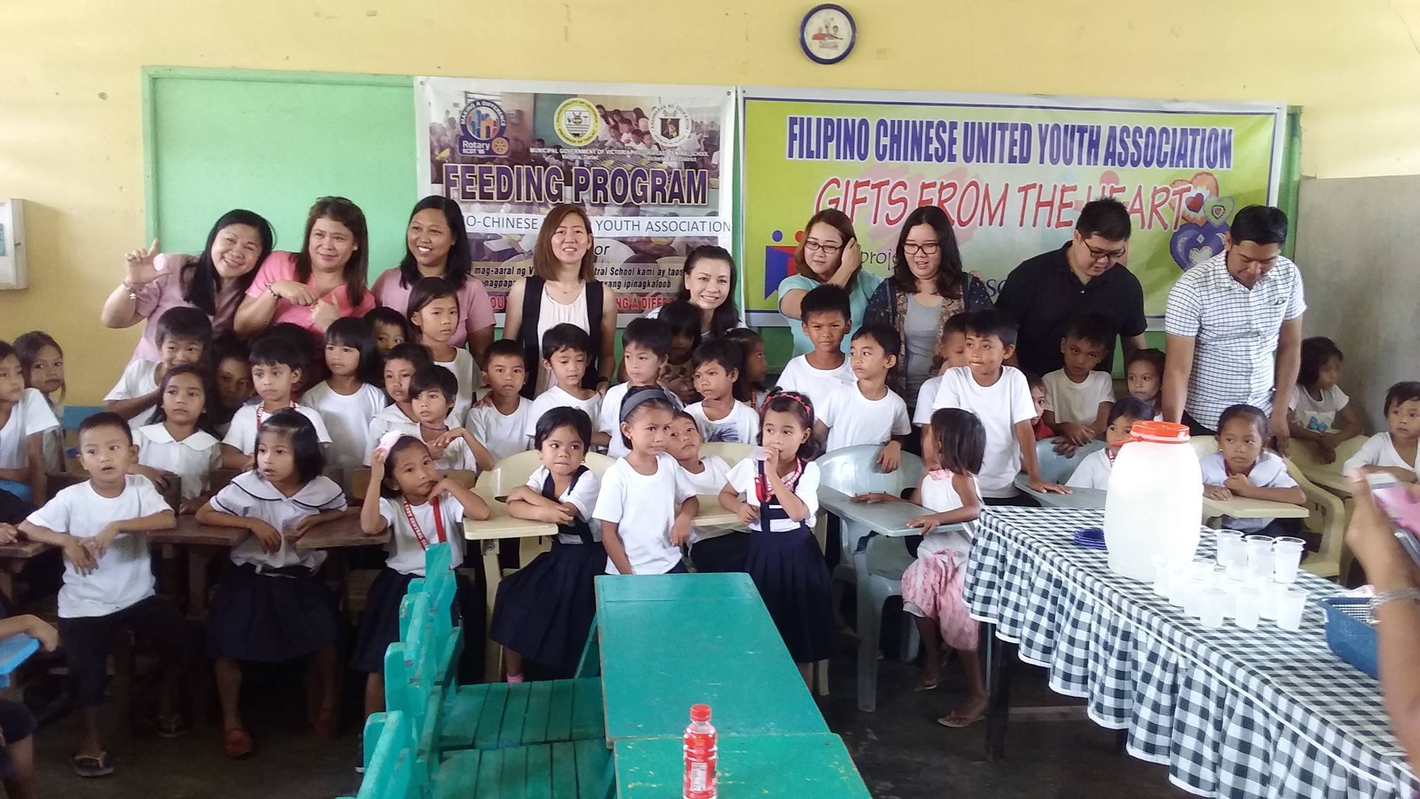 FEEDING PROGRAM @ VECS